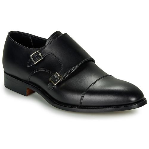 Schoenen Heren Klassiek Barker FORD Zwart
