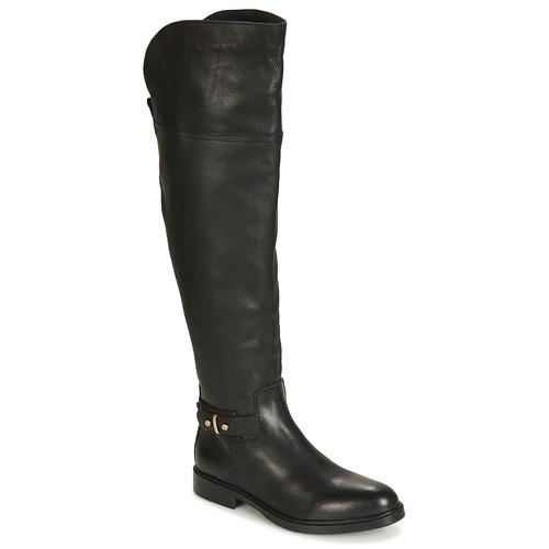 Schoenen Dames Hoge laarzen Tommy Hilfiger HOLLY 6A Zwart