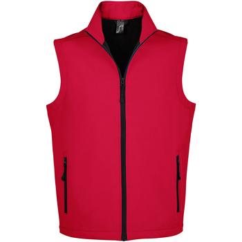 Textiel Heren Vesten / Cardigans Sols RACE BW MEN MODERN Rojo