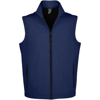 Textiel Heren Vesten / Cardigans Sols RACE BW MEN MODERN Azul