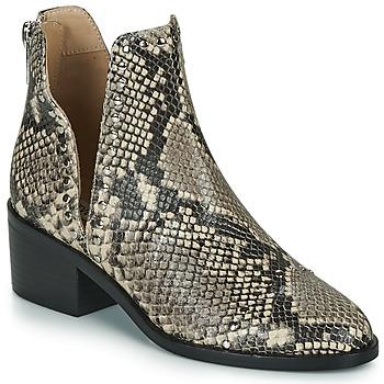 Schoenen Dames Laarzen Steve Madden CONSPIRE Beige / Slang
