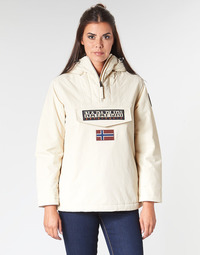 Textiel Dames Parka jassen Napapijri RAINFOREST WINTER Wit