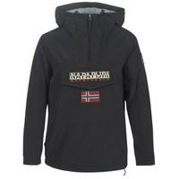 Textiel Dames Parka jassen Napapijri RAINFOREST WINTER Zwart