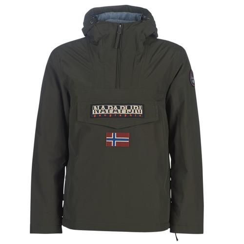 Textiel Heren Parka jassen Napapijri RAINFOREST WINTER Kaki