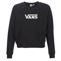 Textiel Dames Sweaters / Sweatshirts Vans FLYING V FT BOXY CREW Zwart