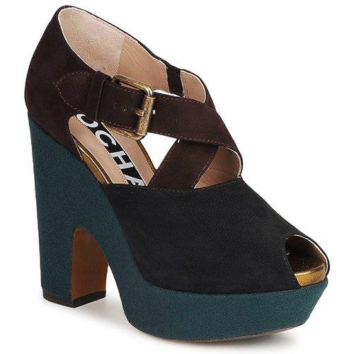 Schoenen Dames pumps Rochas NINFEA Bruin / Blauw