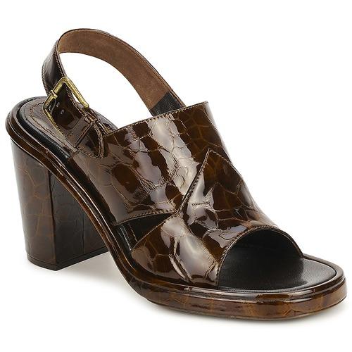 Schoenen Dames Sandalen / Open schoenen Rochas TARTAF Bruin