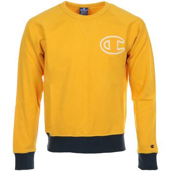 Textiel Heren Sweaters / Sweatshirts Champion Crewneck Sweatshirt Geel
