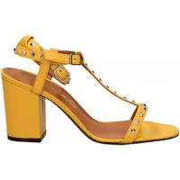 Schoenen Dames Sandalen / Open schoenen Via Roma 15 SANDALO CINTURINI PIRAMIDI giallo