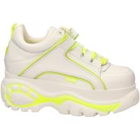 Schoenen Dames Lage sneakers Buffalo 1339-14 LEATHER white-yellow