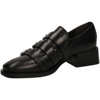 Schoenen Dames Derby Laura Bellariva VITELLO nero-nero