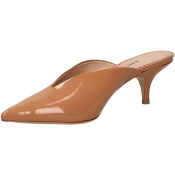 Schoenen Dames slippers Schutz  toanu-nocciola