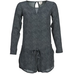 Textiel Dames Jumpsuites / Tuinbroeken Petite Mendigote LOUISON Zwart / Grijs
