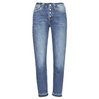 Textiel Dames Straight jeans Pepe jeans MARY REVIVE Blauw / Medium