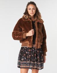 Textiel Dames Wind jackets Pepe jeans RACHEL Bruin