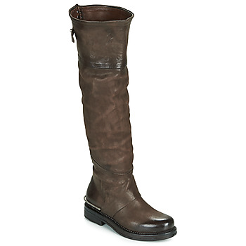 Schoenen Dames Hoge laarzen Airstep / A.S.98 BRET HIGH Bruin