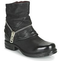 Schoenen Dames Laarzen Airstep / A.S.98 SAINT EC ZIP NEW Zwart