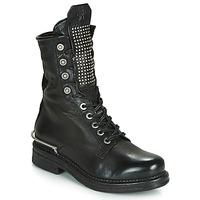 Schoenen Dames Laarzen Airstep / A.S.98 BRET METAL Zwart