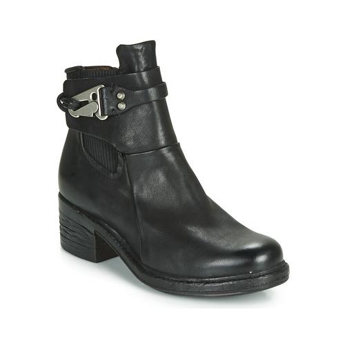 Schoenen Dames Laarzen Airstep / A.S.98 NOVA 17 CHELS Zwart