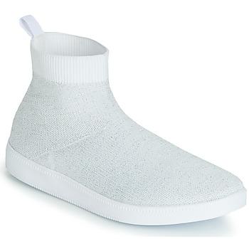 Schoenen Dames Hoge sneakers André ATINA Wit