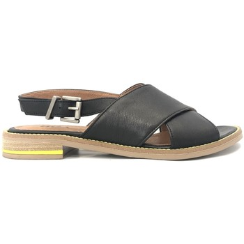 Schoenen Dames Sandalen / Open schoenen Ngy sandales SONIA Sauvage Noir Zwart