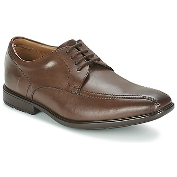 Schoenen Heren Derby Clarks GOSWORTH OVER Bruin