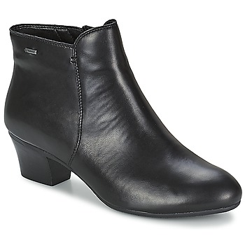 Schoenen Dames Enkellaarzen Clarks MELANIE SU GTX Zwart