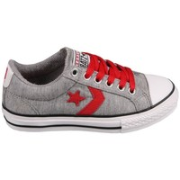 Schoenen Tennis Converse Star Player EV Grey/Red Grijs