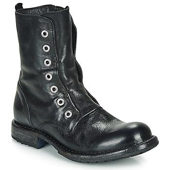 Schoenen Dames Laarzen Moma CUSNA NERO Zwart