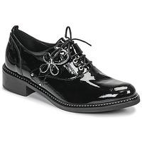 Schoenen Dames Derby Regard ROAZU V2 VERNIS Zwart