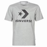Textiel Heren T-shirts korte mouwen Converse STAR CHEVRON Grijs