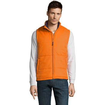 Textiel Heren Dons gevoerde jassen Sols WARM PRO WORK Naranja