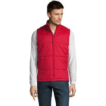 Textiel Heren Dons gevoerde jassen Sols WARM PRO WORK Rojo