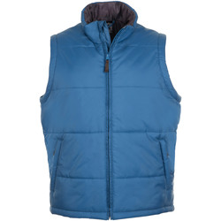 Textiel Heren Dons gevoerde jassen Sols WARM PRO WORK Azul