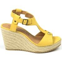 Schoenen Dames Sandalen / Open schoenen Chattawak sandales 7-LIVE Jaune Geel