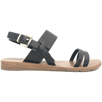 Schoenen Dames Sandalen / Open schoenen Chattawak sandales 7-RUBIS Noir Zwart