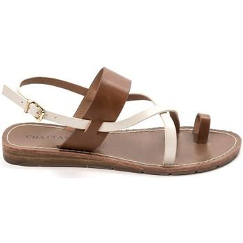 Schoenen Dames Sandalen / Open schoenen Chattawak sandales 7-VALERIANE Camel Bruin