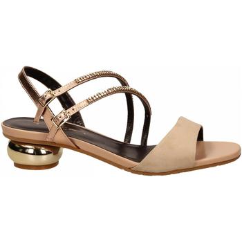 Schoenen Dames Sandalen / Open schoenen Tiffi T1 AMALFI CAMEL / T2 ROSE RESTO CAMPIONE camel---rose