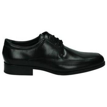 Schoenen Heren Derby & Klassiek Nuper Schoenen  4681 zwarte ridder Noir