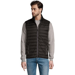 Textiel Heren Gilets Sols WAVE LIGHTWEIGHT MEN Negro