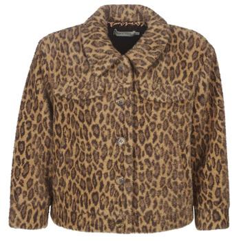 Textiel Dames Wind jackets See U Soon 9262153 Luipaard