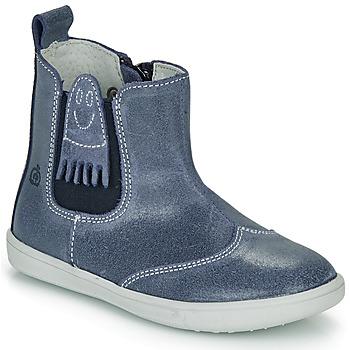 Schoenen Jongens Laarzen Citrouille et Compagnie LESKIMO Blauw
