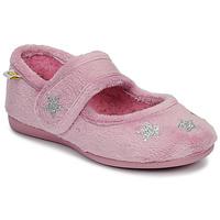 Schoenen Meisjes Sloffen Citrouille et Compagnie LAFIFOU Roze