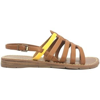 Schoenen Dames Sandalen / Open schoenen Chattawak sandales 7-SHIRLEY Camel/Jaune Bruin