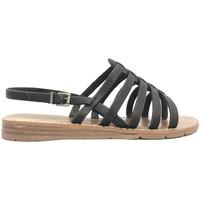 Schoenen Dames Sandalen / Open schoenen Chattawak sandales 7-SHIRLEY Noir Zwart