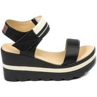 Schoenen Dames Sandalen / Open schoenen Chattawak sandales 9-PAVOT Noir Zwart