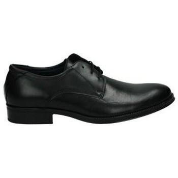 Schoenen Heren Derby & Klassiek Nuper Schoenen  2751 zwarte ridder Noir