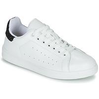 Schoenen Dames Lage sneakers Yurban SATURNA Wit / Zwart