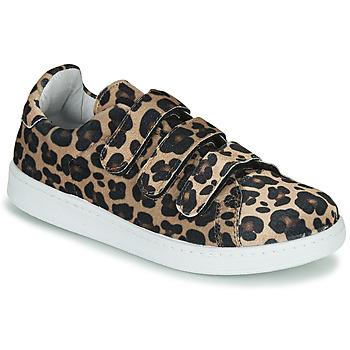 Schoenen Dames Lage sneakers Yurban LABANE Luipaard