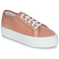 Schoenen Dames Lage sneakers Yurban SUPERTELA Roze